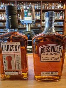 Larceny AND Rossville Union-Our Barrel Picks (Save $10 when you buy both!)